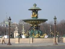 Brunnen am Place de la Concorde