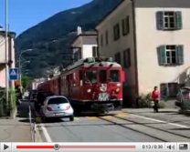 Bernina Express in Le Prese