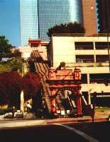 Angels Flight am Pershing Square, LA Downtown