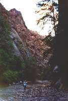 River Walk zu den Narrows, Zion NP