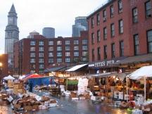 Straßenmarkt in Boston