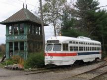 PCC Trolley im Seashore Trolley Museum