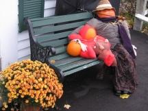 Pumpkin People in Jackson: Mutter mit Kind