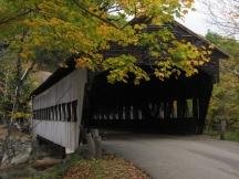 Albany Covered Bridge am Kancamagus Scenic Byway