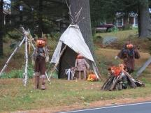 Pumpkin People in Jackson: Indianerstamm