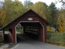 Creamery Covered Bridge bei Brattleboro, VT