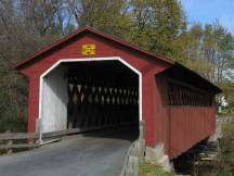 Silk Covered Bridge bei Bennington, VT