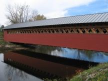 Paper Mill Covered Bridge bei Bennington, VT
