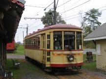 im Connecticut Trolley Museum