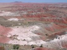 Kachina Point im Petrified Forest NP