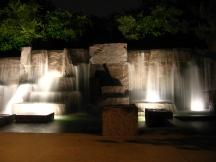 Wasserfall am Roosevelt Memorial