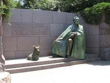 Roosevelt Memorial in Washington, DC