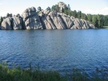 Sylvan Lake am Needles Highway im Custer SP