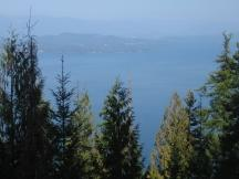 Johnson Point, Blick auf den Lake Pend Oreille, Idaho