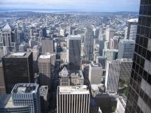Ausblick vom Bank of America Tower, Seattle