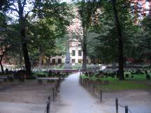 Granary Burying Ground, Friedhof neben der Park St Church