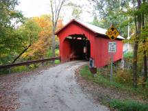 Slaughter House Bridge, Northfield Falls, VT