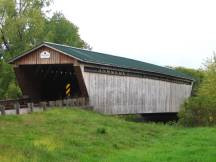 Gorham Covered Bridge bei Proctor, VT