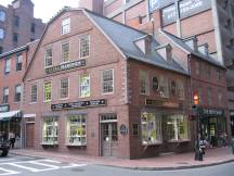 Old Corner Book Store am Freedom Trail, Boston