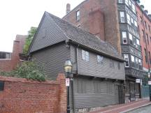 Paul Revere House am Freedom Trail, Boston