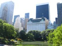 Plaza Hotel, am Rande des Central Parks