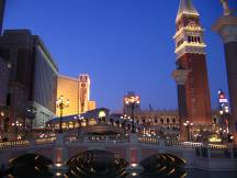 Hotel Venetian am Strip in Las Vegas