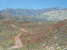Titus Canyon Road im Death Valley NP