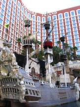 Hotel Treasure Island am Strip in Las Vegas
