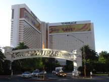 Hotel Mirage am Strip in Las Vegas