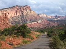 Scenic Drive im Capitol Reef NP