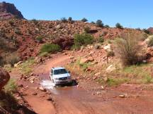 Onion Creek Road bei Moab, Utah