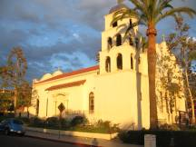 Immaculate Conception Church, Old Town in San Diego