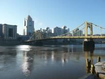 Allegheny River in Pittsburgh, PA