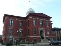 Old Courthouse in Woodstock, Illinois