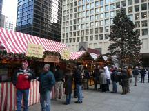 Christkindl Market in Chicago, Illinois