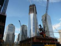 im Bau befindliche One World Trade Center