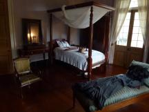 Schlafzimmer in der Oak Alley Plantation