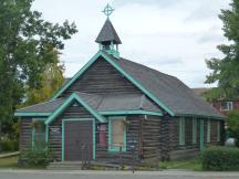 Old Log Church in Whitehorse, Yukon