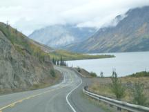 Tutshi Lake am Klondike Highway, British Columbia