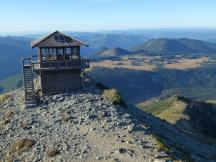 Mt. Fremont Lookout Tower im Mt Rainier Nationalpark