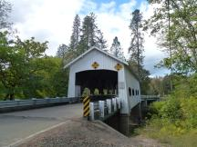 Rochester Covered Bridge bei Sutherlin, Oregon