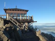 Lookout Tower auf dem Watchman im Crater Lake NP