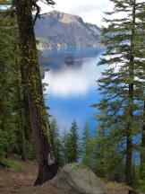 Phantom Ship Overlook im Crater Lake NP