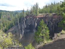 Pinnacles Overlook im Crater Lake NP