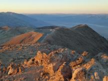 Sonnenaufgang am Dantes View, Death Valley NP