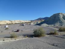 Texas Springs Campground im Death Valley NP